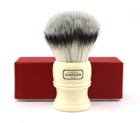 Simpson Trafalgar T3 Synthetic Fiber Shaving Brush