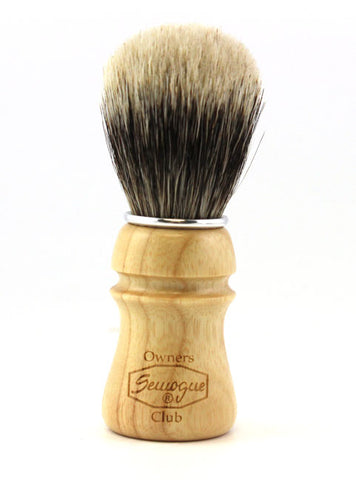 Semogue SOC Mistura Ash Wood Brush (Mixed Knot)