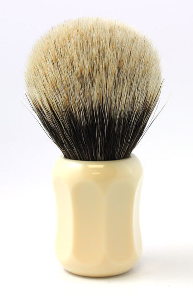 Heinrich L. Thater 4125 Ivory Shaving Brush with Bulb Knot in Two-Band Super