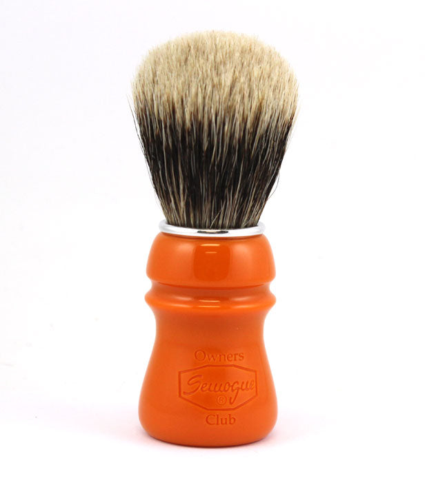 Semogue SOC Two Band Finest Badger in Butterscotch Resin