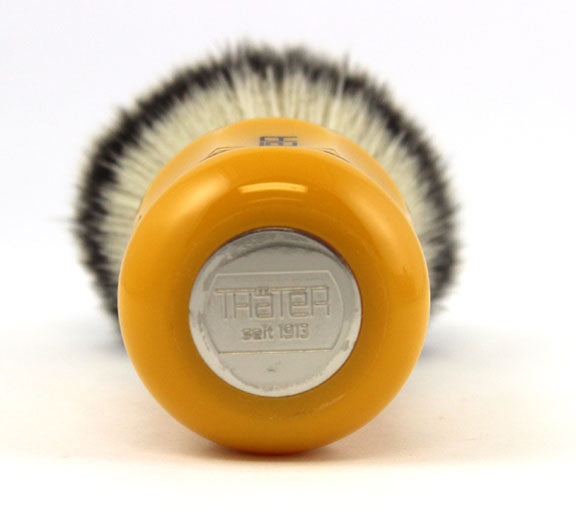 H.L. Thater Synthetic Badger Shaving Brush -Butterscotch