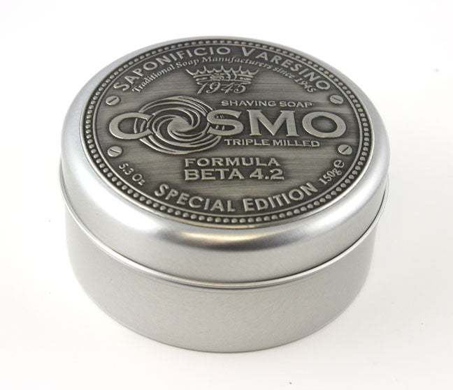 "Saponificio Varesino ""Cosmo "" Shaving Soap in  Aluminum Jar -Beta 4.2 (150g)"