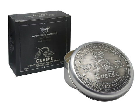 Saponificio Varesino Cubebe Shaving Soap in Tin (150g)