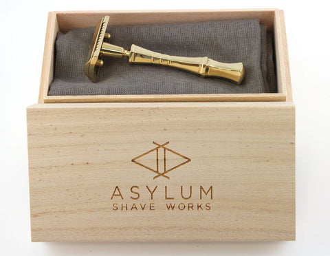 Polished Asylum Evolution XLT in Brass