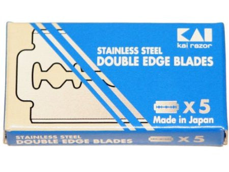 Kai Stainless Steel Double Edge Blades