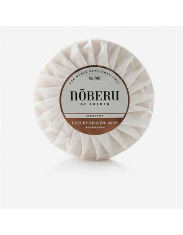 Noberu Sandalwood Shaving Soap (100g)