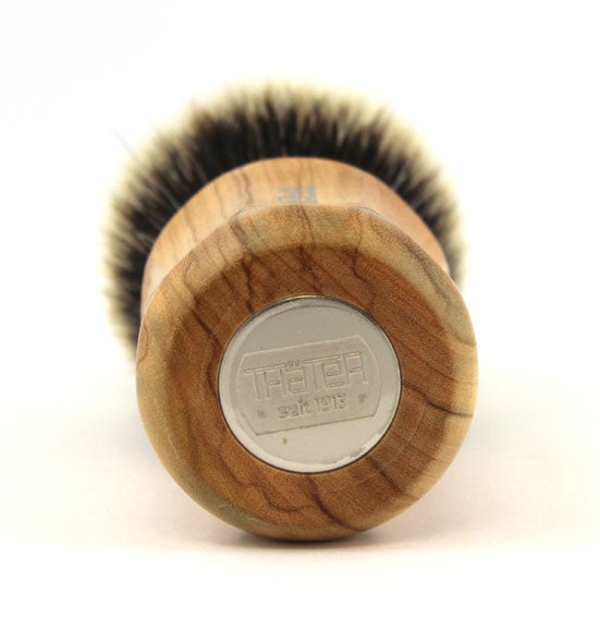 H.L. Thater Wild Olive Wood 4125 with Two Band Fan Rounded Knot