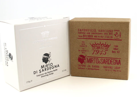Saponificio Varesino Mirto di Sardegna Shaving Soap (Beta 4.3) 150g
