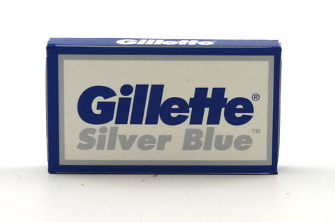 Gillette Silver Blue Double Edge Blades