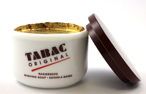 Tabac Shave Soap in the Milk Bowl