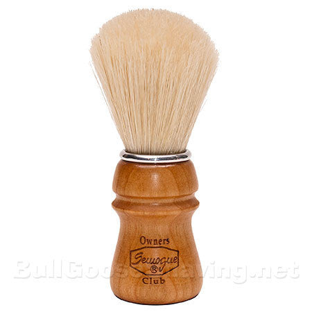 Semogue Owners Club Premium Boar Bristle Shaving Brush -Cherry Wood Handle