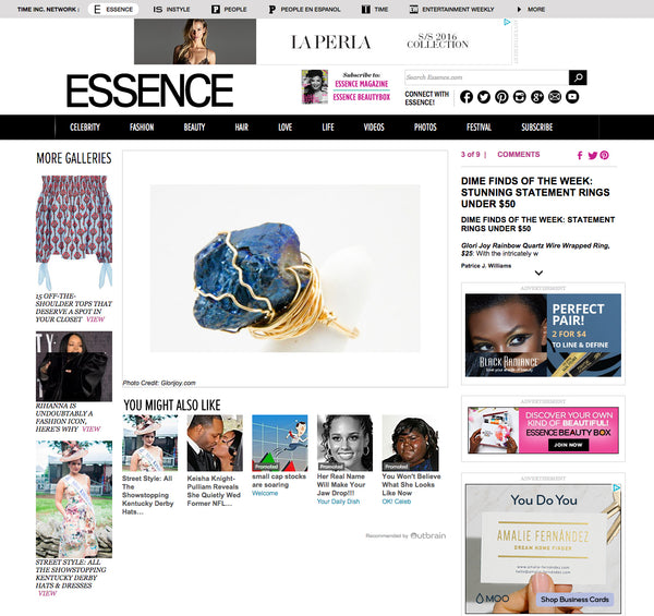 Essence.com - Dime Finds of the Week: Stunning Statement Rings Under $50