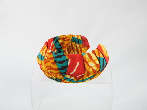 Makena Ankara Thick Pointed Cuff Bracelet