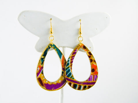 Nandita Teardrop Dangle Earrings