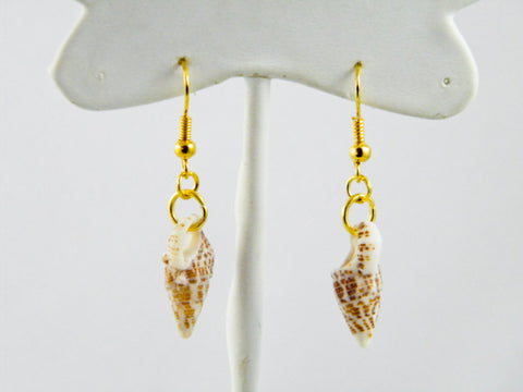 Montego Bay, Jamaica - Marvette Shell Dangle Earrings