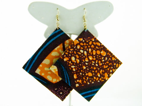 Meryam Ankara Diamond Shaped Earrings