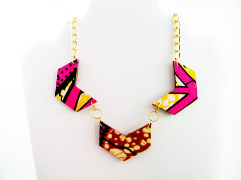 Ayo/Keyara 33% Combo Chevron Necklace