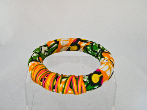 Sanaa Ankara Thick Round Bangle Bracelet