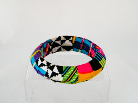 Jubilation Ankara Pointed Bangle Bracelet