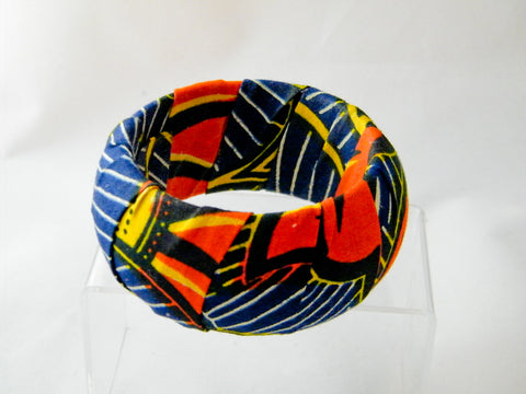Ayana Ankara Thick Bangle Bracelet