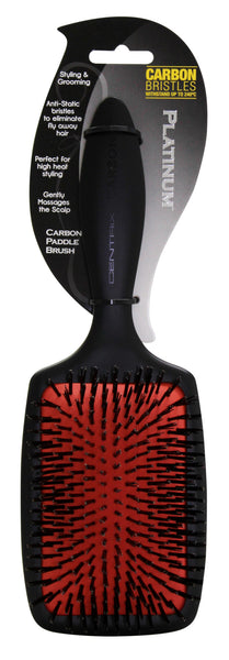 Platinum Carbon Paddle Brush