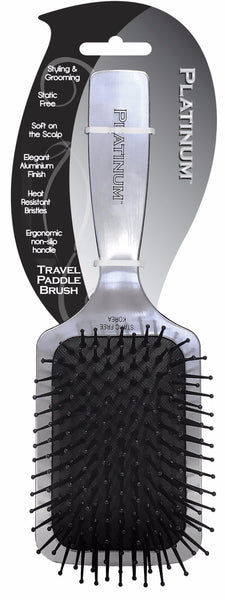 Platinum Travel Paddle Brush