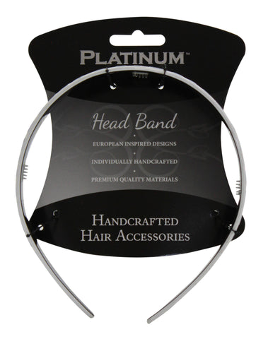 Platinum Head Band Zebra