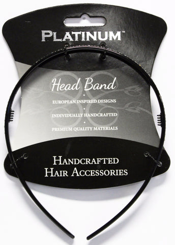 Platinum Alice Band Thin Diamond