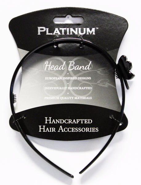 Platinum Alice Band Butterfly
