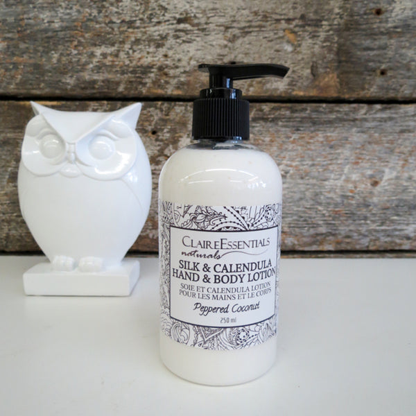 Silk & Calendula Hand & Body Lotion