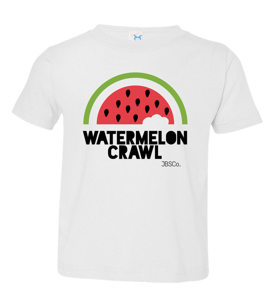 Watermelon Crawl Toddler Tee