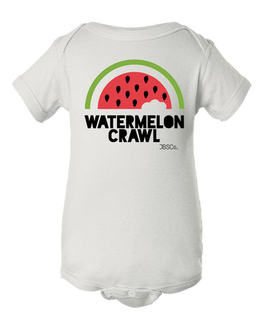 Watermelon Crawl Onesie