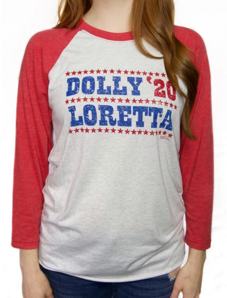 Vote Dolly 2020 Baseball Tee
