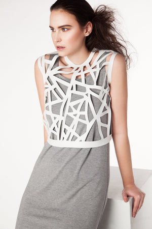 Geometric Cutout Vest - LIMITED Time Only - Rebecca Rae Design Inc.