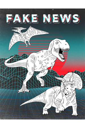 retro art, dinasaurs, dino, 80s art, tech, rrdi, rebecca johnson