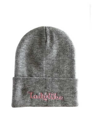 Ladylike Embroidered Beanie