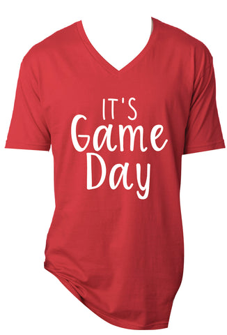 It's Game Day Tee - Red