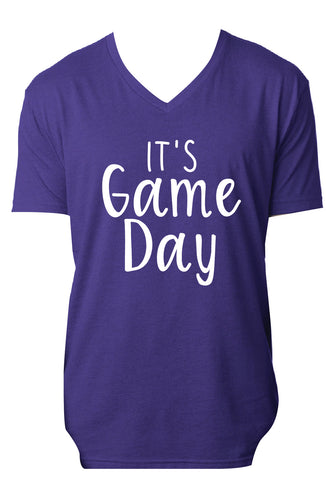 It's Game Day Tee - Blue