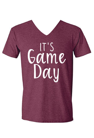 It's Game Day Tee - Maroon