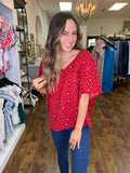The Sweetie Top - Red