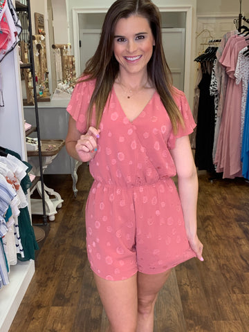 Hello Sweetheart Romper