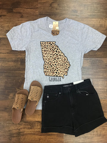 Georgia Cheetah Tee