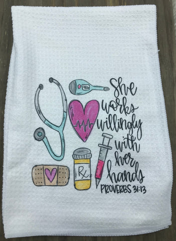 Nurse Tea Towel