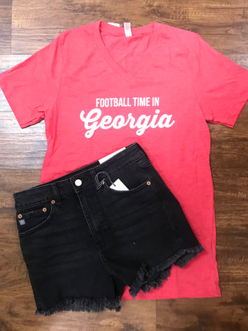 Football Time In Georgia