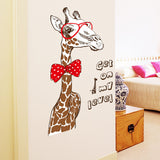 Cool Giraffe - Get On My Level Wall Decal
