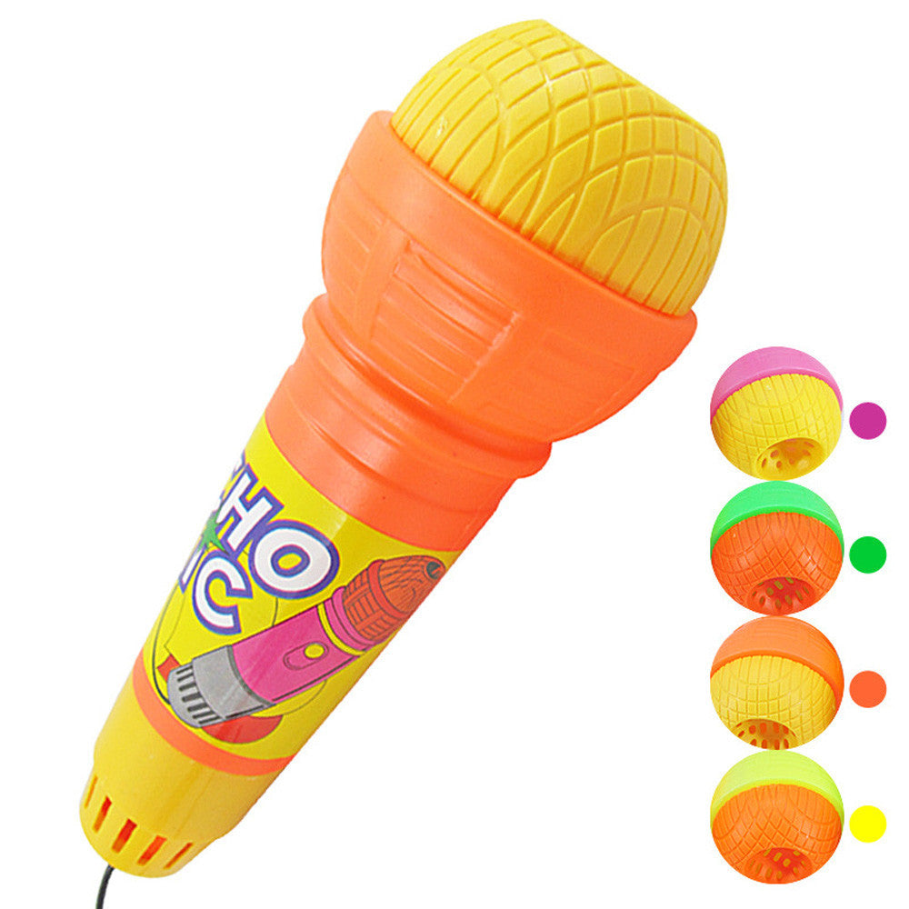 Plastic microphone toy - Echo Microphone to promote vocalization