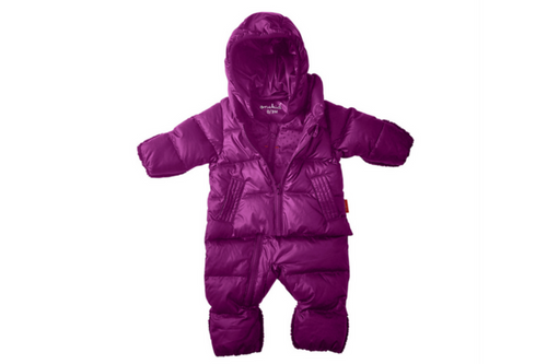 Clothing, Shoes & Accessories Too Cute On! Tireless Pink Quilted Girls Pram Suit 3-6 Months
