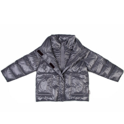 Car Seat Safety Road Coat®Vegan Jacket - Platinum