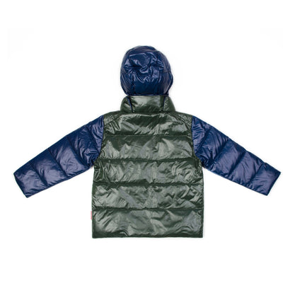The Road Coat®Down - Navy/Olive