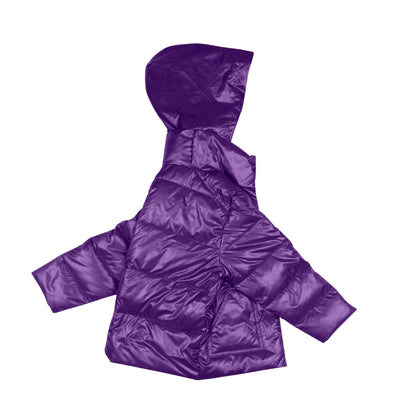 Car Seat Safety Road Coat®Vegan Jacket - Purple
